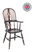 Childrens Lancashire Broard Arm Windsor Chair