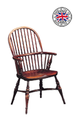 Childrens Stickback-Turned Stump Windsor Arm Chair