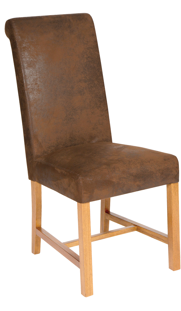 Leadon Oak And Faux Leather Dining Chair : Leadon dining chairs from www.thechairmen.co.uk size 600 x 1027 png 564kB