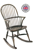 Stick Back Rocking Chair