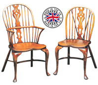 Cabriole Leg Georgian Windsor Chair