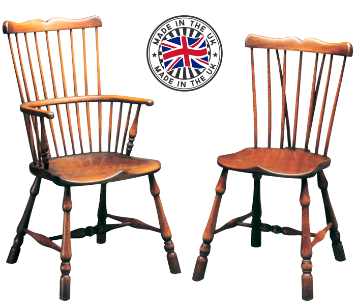 Move Over Image To Enlarge And Use Mouse Wheel To Zoom In And Out. Comb  Back Windsor Dining Chairs
