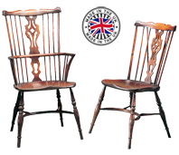 Fan Back Georgian Windsor Chair