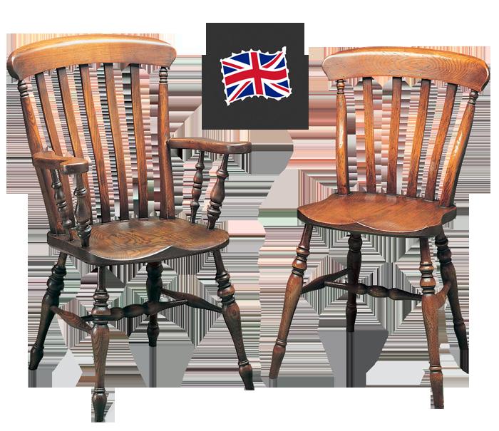 Slat Back Windsor Dining Chair