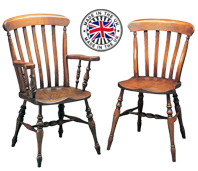 Windsor Kitchen Chairs With Arms