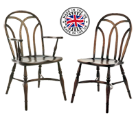 Interlaced Back Windsor Chair