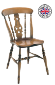 Lyre back Windsor Chair