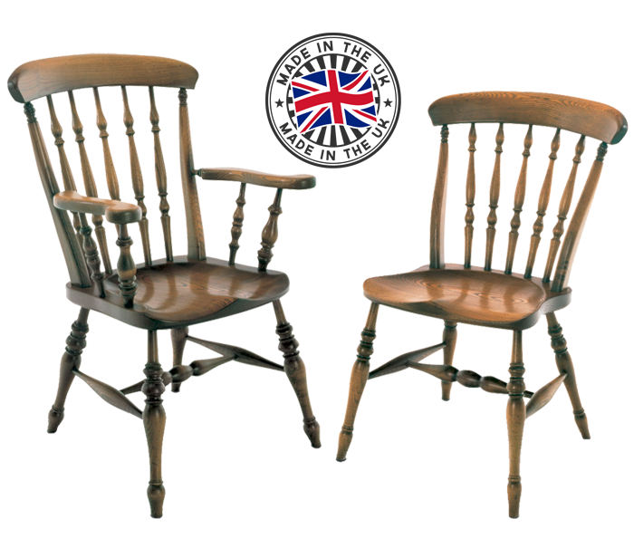 Beau Roman Spindle Windsor Chair