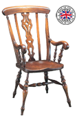 Scroll Arm Windsor Chair
