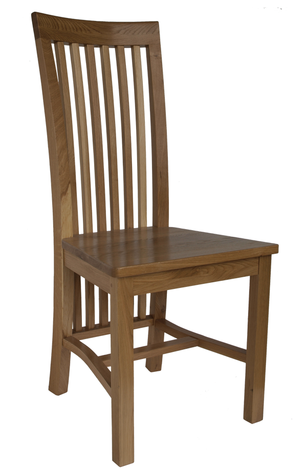 Solid Oak Dining Chairs ~ Rowan solid wood dining chair