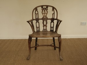 Antique Gothic Windsor Chair